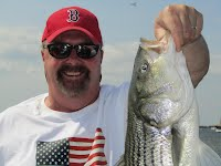 Captain Charlie Crocker of Mistie C Fishing Charters Newburyport MA