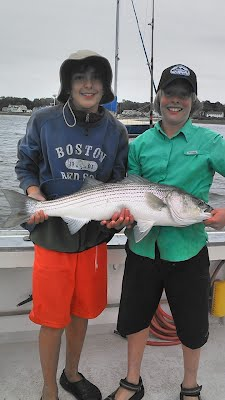 Mistie C Charters Newburyport Bass Fishing